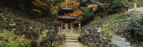 Pagoda, Otagi Nenbutsu-Ji Temple, Kyoto, Japan Fotografisk trykk av Panoramic Images,