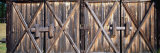 Closed Doors of a Barn, Montana, USA Photographic Print by Panoramic Images 