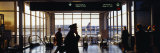 Panoramic Images - Group of People in an Airport Terminal, O'Hare Airport, Chicago, Illinois, USA - Fotografik Baskı