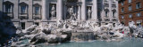 Fountain in Front of a Building, Trevi Fountain, Rome, Italy Photographic Print by  Panoramic Images