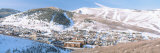 Town in a Mountain Valley, Park City, Utah, USA Photographic Print by  Panoramic Images