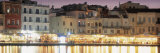 Bars on the Waterfront, Crete, Greece Photographic Print by  Panoramic Images