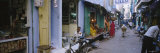 Stores on Both Sides of an Alley, Pushkar, Rajasthan, India Photographic Print by  Panoramic Images