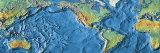 Carta geografica mondiale Stampa fotografica di Panoramic Images,