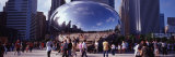 Tourists Walking in the Park, Sbc Plaza, Millennium Park, Chicago, Illinois, USA Photographic Print by  Panoramic Images