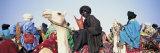 Tuaregs Riding on Camels, Mali Fotografisk tryk af Panoramic Images