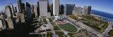 Outdoor Amphitheater, Pritzker Pavilion, Millennium Park, Chicago, Illinois, USA Fotografisk tryk af Panoramic Images,