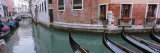 Gondolas in a Canal, Grand Canal, Venice, Italy Photographic Print by Panoramic Images