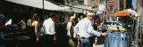 Group of People Shopping in a Market, Soho, New York, USA Photographic Print by  Panoramic Images