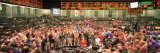 Large Group of People on the Trading Floor, Chicago Board of Trade, Chicago, Illinois, USA Photographic Print by Panoramic Images 