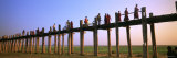 U Bein Bridge, Mandalay, Myanmar Reproduction photographique par  Panoramic Images