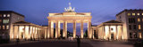 Brandenburg Gate, Berlin, Germany Photographic Print by  Panoramic Images