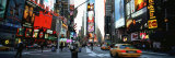 Traffic on a Road, Times Square, New York, USA Fotografie-Druck von Panoramic Images