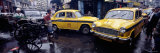 Traffic in a Street, Calcutta, West Bengal, India Photographic Print by  Panoramic Images