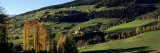 Buildings on a Landscape, Dolomites, Funes Valley, Tyrol, Italy Photographic Print by  Panoramic Images