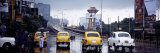 Cars on the Road, Calcutta, West Bengal, India Photographic Print by  Panoramic Images
