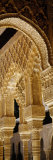 Carving on Arches and Columns of a Palace, Court of Lions, Alhambra, Granada, Andalusia, Spain Lmina fotogrfica por Panoramic Images