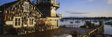 Building at the Waterfront, Fishing Village, Mount Desert Island, Maine, USA Photographic Print by  Panoramic Images