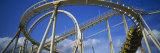 Rollercoaster in an Amusement Park Photographic Print by Panoramic Images 