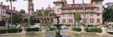 Fountain in Front of a Building, Lightner Museum, Flagler College, St. Augustine, Florida, USA Photographic Print by Panoramic Images