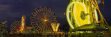 Ferris Wheel at an Amusement Park, Erie County Fair, Hamburg, Erie County, New York, USA Photographic Print by  Panoramic Images