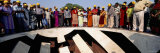 Tourists Standing at an Observatory, Jantar Mantar, Jaipur, Rajasthan, India Photographic Print by  Panoramic Images