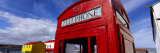 High Section View of a Telephone Booth, Stanley, Falkland Islands Photographic Print by  Panoramic Images