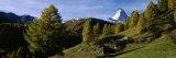 Mountain Peak, Matterhorn, Valais, Switzerland Photographic Print by  Panoramic Images