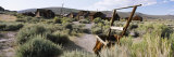 Houses on a Landscape, Bodie Ghost Town, Bridgeport, California, USA Photographic Print by  Panoramic Images