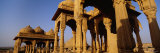 Monuments at a Place of Burial, Jaisalmer, Rajasthan, India Photographic Print by  Panoramic Images