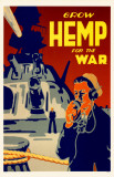 Grow Hemp For The War Masterprint