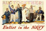 Enlist In The Navy Masterprint