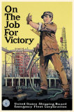On The Job For Victory Masterprint