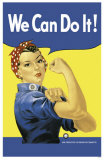 Rosie The Riveter Masterprint