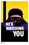 He&#39;s Watching You Masterprint