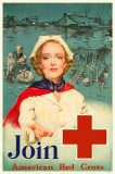 Red Cross Impresso de alta qualidade