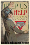 YWCA United War Work Campaign Masterprint