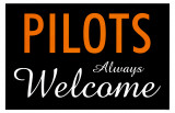Pilots Always Welcome Masterprint