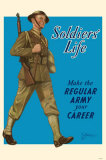 Soldier's Life Masterprint