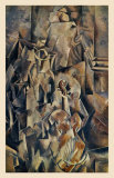 Violon and Jug Art by Georges Braque