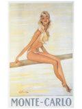 Monte-Carlo Giclee Print by Jean-Gabriel Domergue