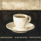 Espresso Prints by G.p. Mepas