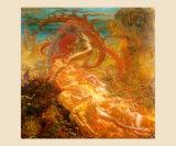 Tresors de Satan, 1895 Posters by Jean Delville