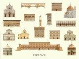 Firenze Posters by Libero Patrignani