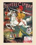 Nouveau Cirque, 1889 Poster