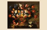 Corbeille a Fleurs Prints by Juan de Arellano