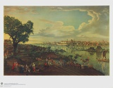 View of Warsaw with the Vistula Collectable Print by  Canaletto