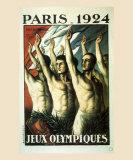 Jeux Olympiques, Paris, 1924 Prints by Jean Droit