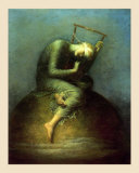 Esperance, 1885 Prints by George Frederick Watts