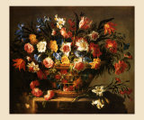 Corbeille a Fleurs Prints by Juan de Arellano